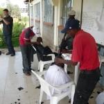 Hair cut for Street Kids