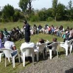 Prayer meeting for the Street Kids