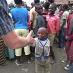 A Warm Welcome From The Children in Nanyuki